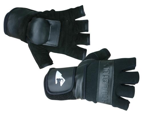 HillBilly Protection Wrist Guard Gloves - Half Finger
