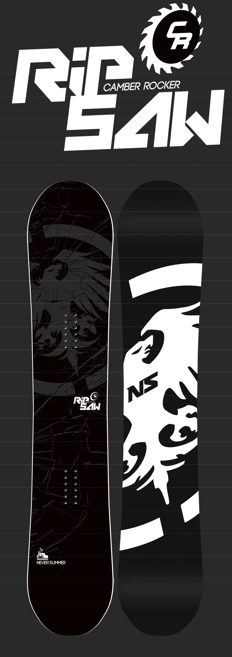 Never Summer RIPSAW CR Snowboard