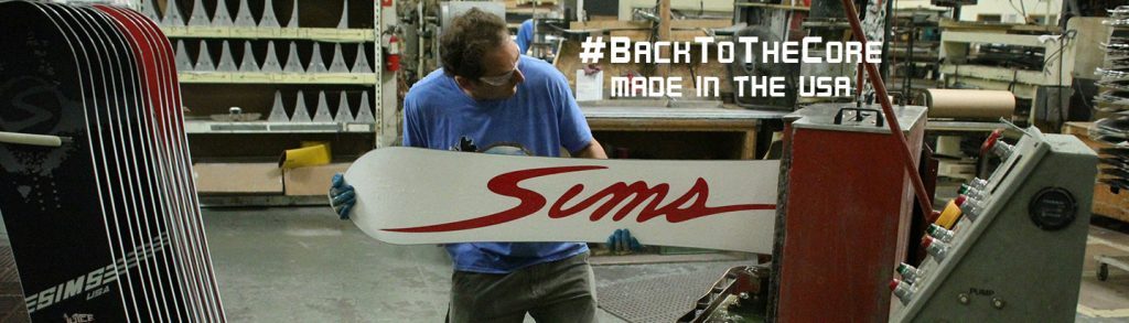 SIMS Snowboards back in the UK
