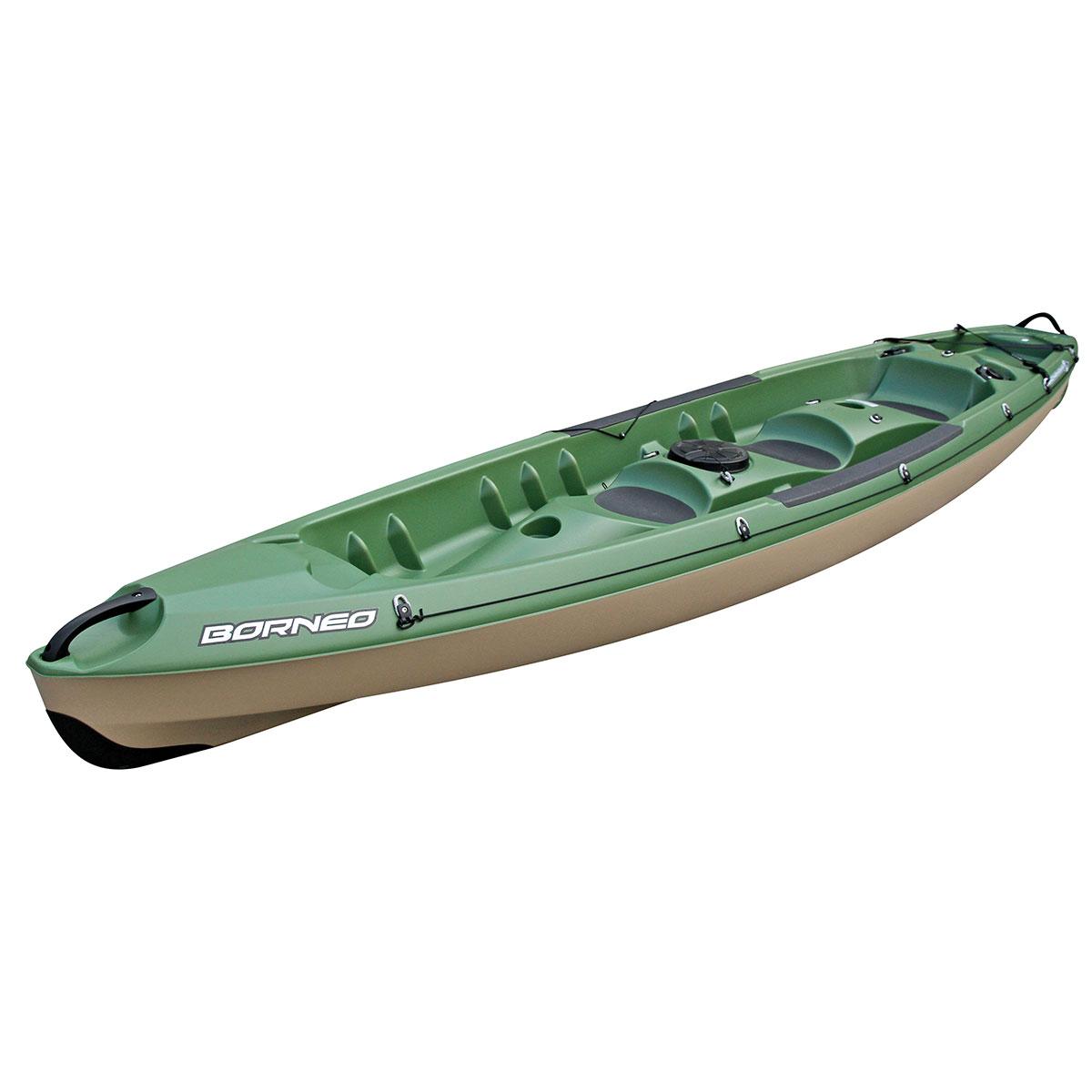 Bic borneo sit on top kayak maxtrack for Fishing kayak brands