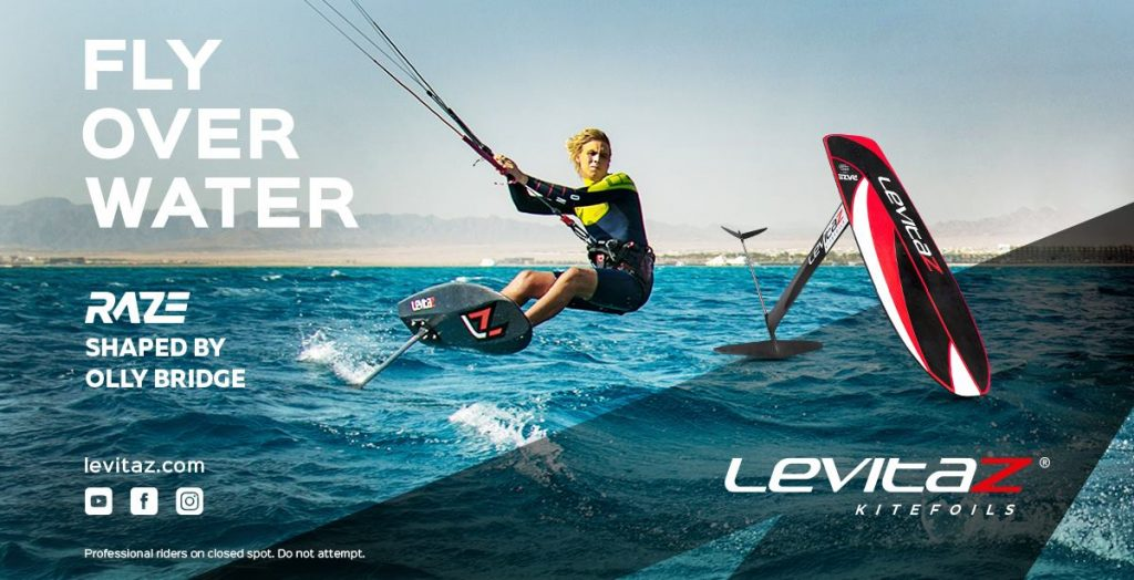 Levitaz Raze Kite Foil Board Race Specific